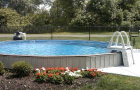 Protege Semi-Inground Pool - 100% Aluminum